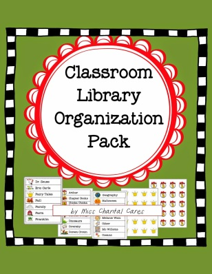 https://www.teacherspayteachers.com/Product/Classroom-library-organization-pack-1698732