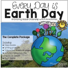 Earth Day, Ecoliteracy, Reduce, Reuse, Recycle, The Lorax, Global Citizenship