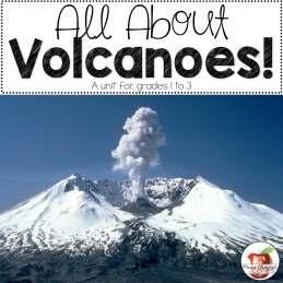 Volcanoes, Language Arts, Primary, Elementary