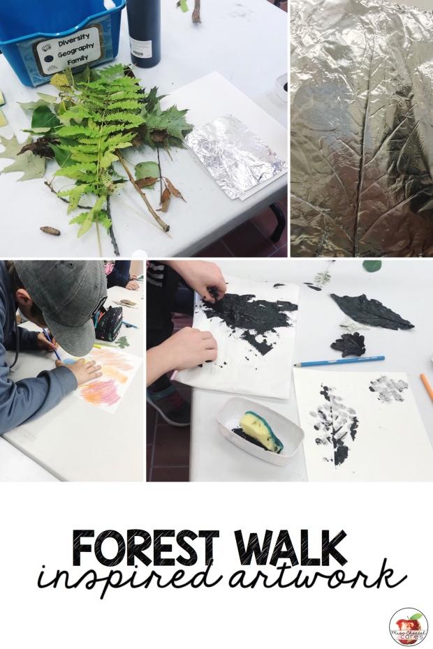 Forest Walk Inspired Art Work